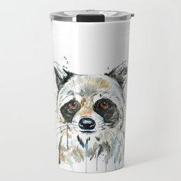 Peekaboo Raccoon Travel Mug