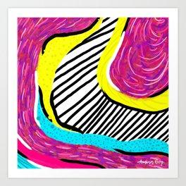 Abstract Study No. 6 Art Print