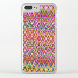 Missoni Style Clear iPhone Case