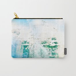 Abstract Blue Water Ocean Metal Boat Grime Carry-All Pouch