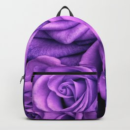 Purple Roses Backpack