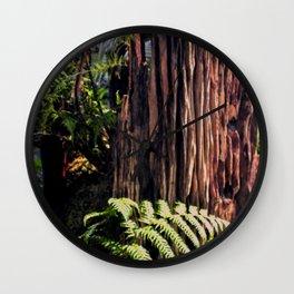 Rotting Wood Wall Clock