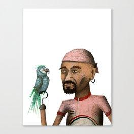 Marco Pantani Canvas Print