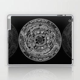 An Island Mandala - PEI, Canada - Original Colors - Black on White Laptop & iPad Skin