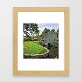 Sandwich Grist Mill Framed Art Print