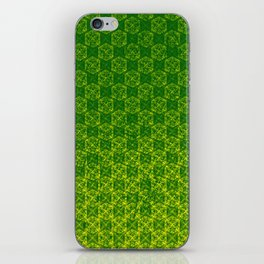 D20 Druid Ranger Crit Pattern Premium iPhone Skin