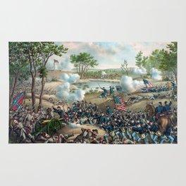 Battle of Cold Harbor -- Civil War Rug