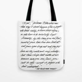 You become Tote Bag