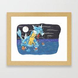 Gyaridos Framed Art Print
