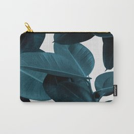 Indigo Plant Leaves Carry-All Pouch