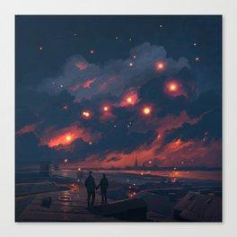 Magic Night Canvas Print