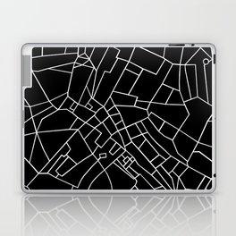 London Road Blocks Black Laptop & iPad Skin