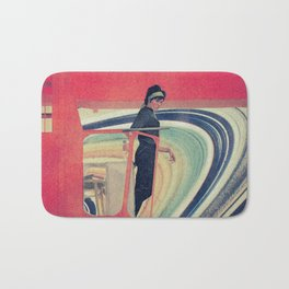 Rosie the Cosmic Riveter Bath Mat