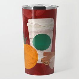 Pumpkin Spice Latte Coffee Travel Mug