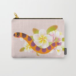 Kuhli loach and plumeria Carry-All Pouch