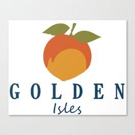 Golden Isles - Georgia. Canvas Print