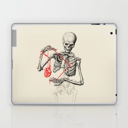 I need a heart to feel complete Laptop & iPad Skin