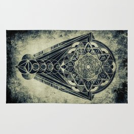 Sacred Geometry for your daily life -  Galactic OHM Rug