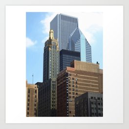 The Progressive City of Chicago Art Print