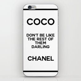 coco quote no. 18 iPhone Skin