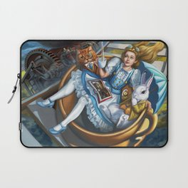 Steampunk Alice in Wonderland Teacups Laptop Sleeve