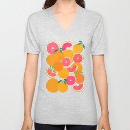 Grapefruit Harvest Unisex V-Neck