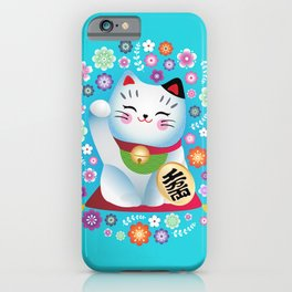 My lucky Kitty iPhone Case