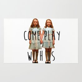 Come play with us Rug