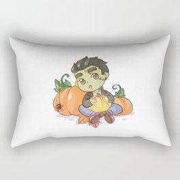 Little Frankenstein's monster Rectangular Pillow