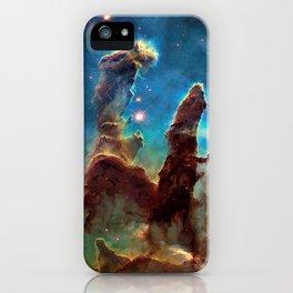 Eagle Nebula's Pillars iPhone Case