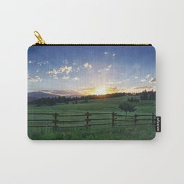 Foothills Sunset Carry-All Pouch