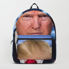 Portrait of President Donald J. Trump Backpack