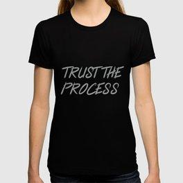 Trust The Process Workout Motivational Design T-shirt