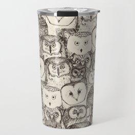 just owls natural Travel Mug