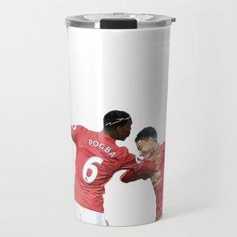 Pogba Lingard - Manchester United - Dab Travel Mug