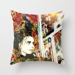 Cuculidae Throw Pillow