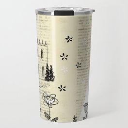 Mr.Darcy of Pemberley and Miss Bennet of Longbourn Travel Mug
