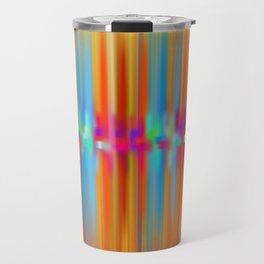 Seismic Shift Fiery Clouds Travel Mug