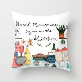 Great Memories Throw Pillow