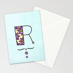 R r Stationery Cards
