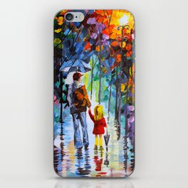 Father and Daughter iPhone Skin