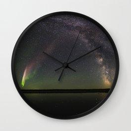 Milky Way and Steve Wall Clock