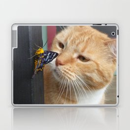 Max and Butterfly Laptop & iPad Skin