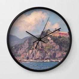 Cliffside Italian Villages Wall Clock