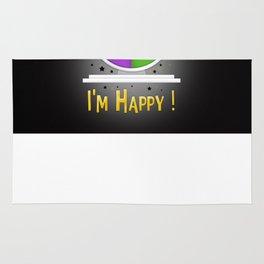 I am Happy Rug