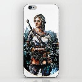 Ciri 2 - The Witcher Wild Hunt  iPhone Skin