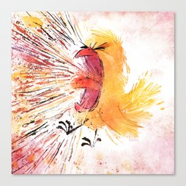 Frustrated Canvas Print