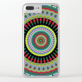 exotic Mandala Clear iPhone Case