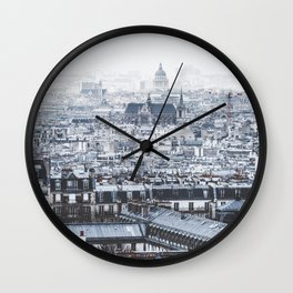 Rooftops - Architecture, Photography Wall Clock