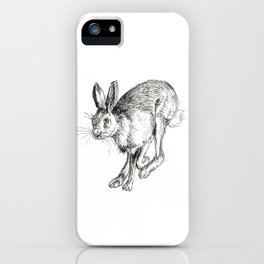 Hare 3 iPhone Case